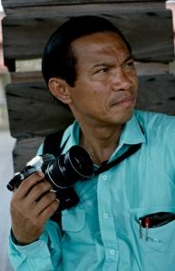 dith pran and camera
