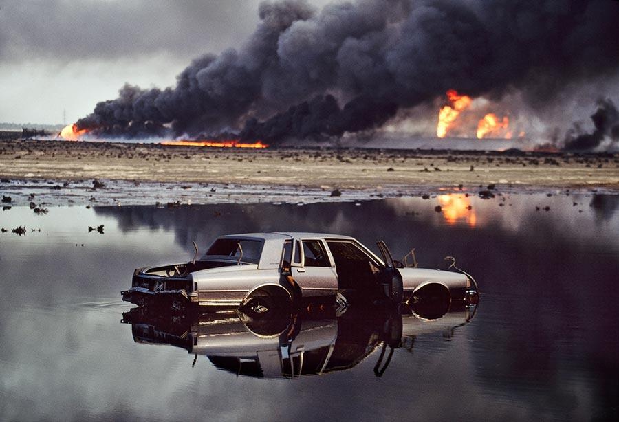 Persian Gulf War Oil Spill 1991 Cadillac