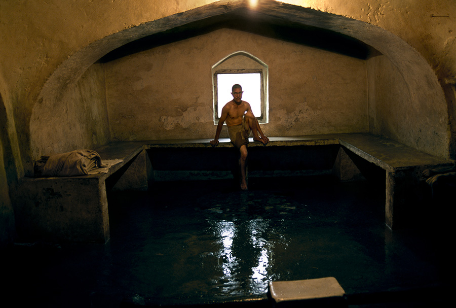 Sauna, Kabul, Afghanistan, 2002