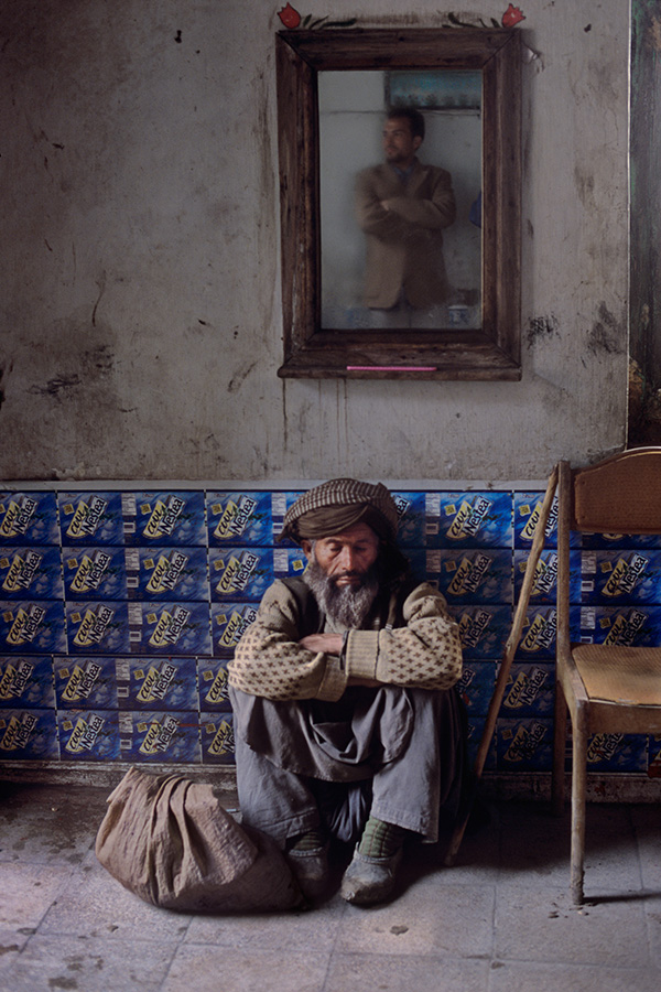Restaurant, Kunduz, Afghanistan, 2002, final book_iconic
