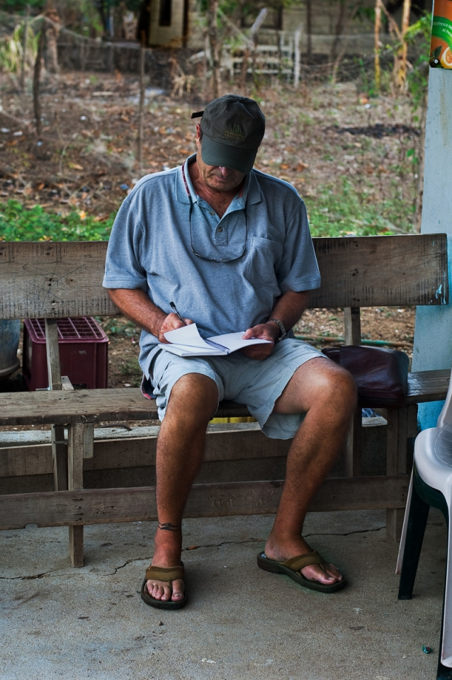 Paul Theroux, writer and novelist, Costa Rica