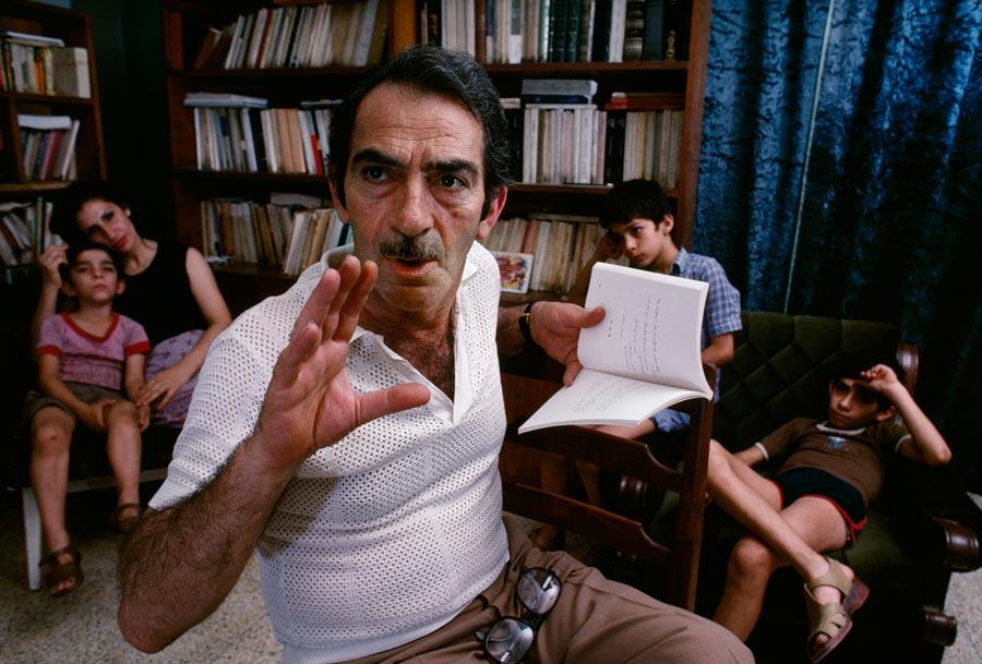 Poet Khalil Khoury, Baghdad, Iraq
