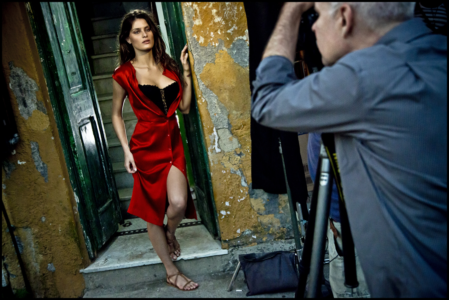 Behind the scenes Pirelli The Cal 2013 by Steve Mc Curry