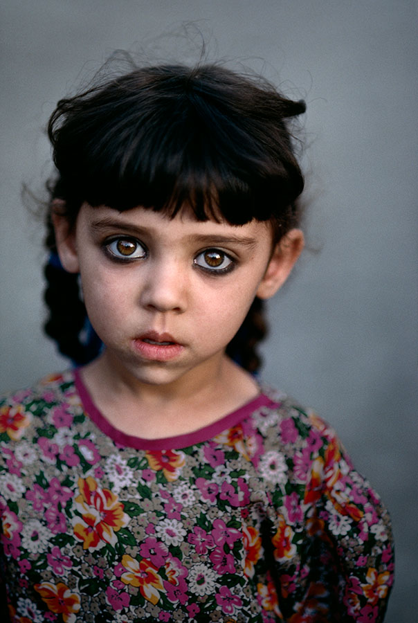 Girl in Kandahar orphanage, Afghanistan