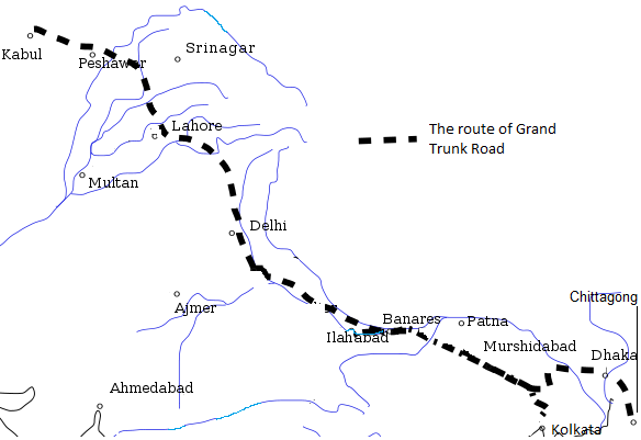 route_of_grand_trunk_road