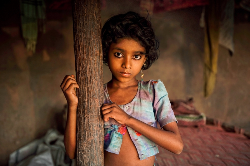 Nomad Girl, Rajasthan, India, 2009