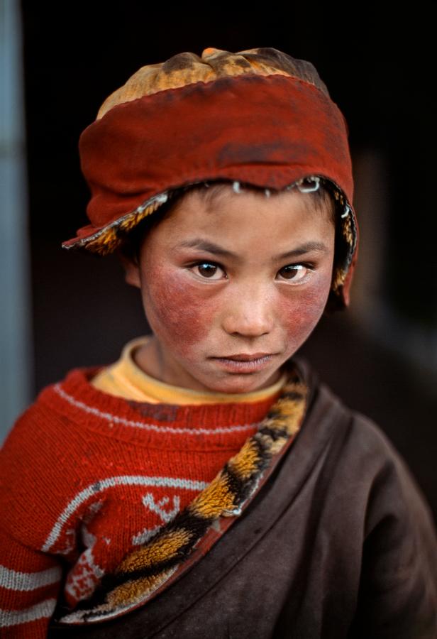 Nomad boy Tibet, 1999